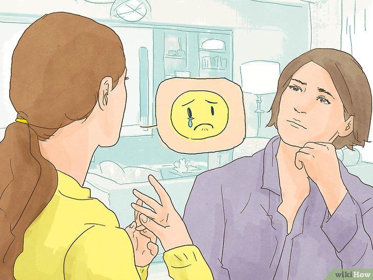 عندما تتعرض لموقف محزن هل تبكي ؟