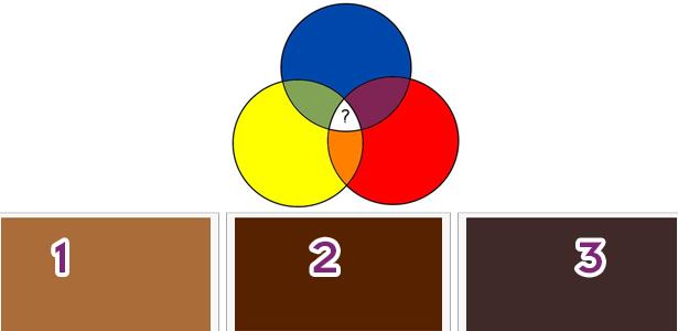 أما عن الأصفر والأحمر مع الأزرق؟