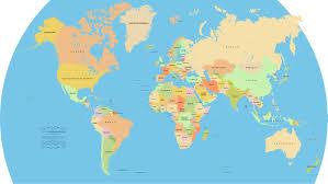 من هو أول من رسم خريطة العالم