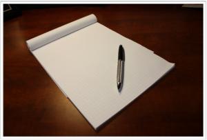 هل لديك مفكرة لتنظيم الوقت وكتابة الأعمال الهامة وأولويات أمورك؟